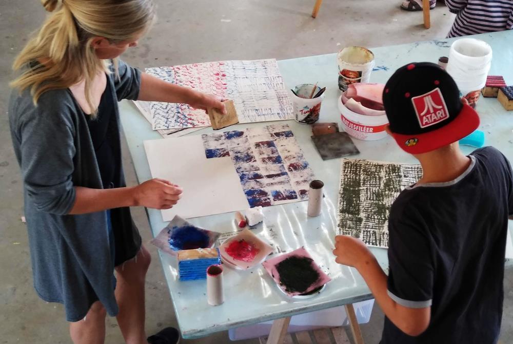 Workshop för barn aoch föräldrar