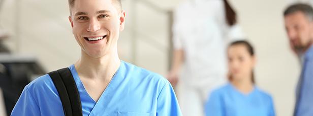 Jag jobbar extra inom sjukvarden