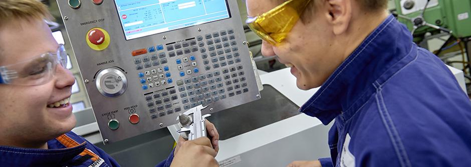 Kone- ja tuotantotekniikan perustutkinto | koneasentaja