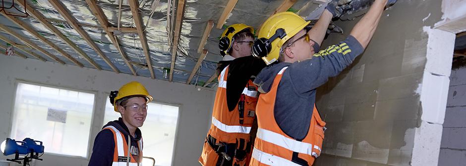 Rakennusalan perustutkinto | talonrakentaja