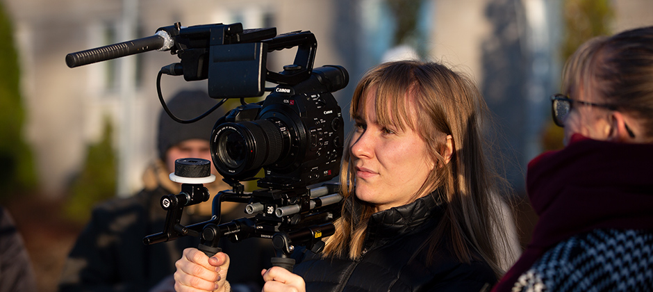 Skapa film under ett helt år