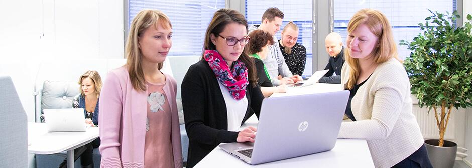 Yrittäjävalmennus verkossa