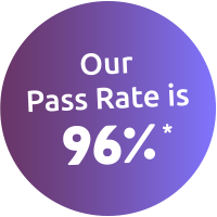 ICS Learn CIPD pass rate is 96%