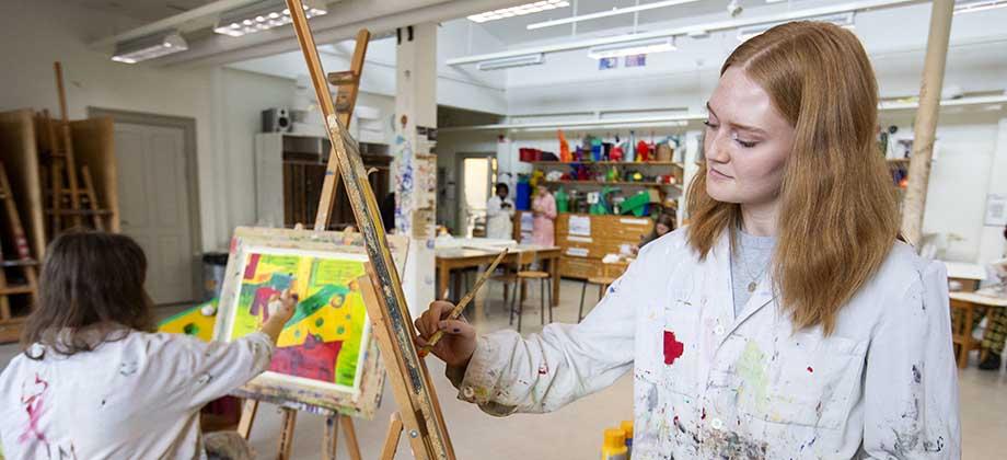 Estetiska programmet, Konst och Design