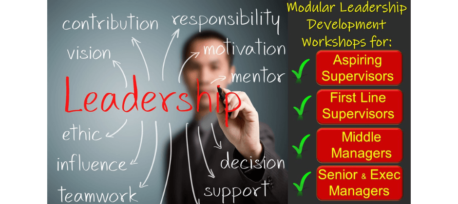 First Line, Middle and Executive Modular Leadership Training Workshops