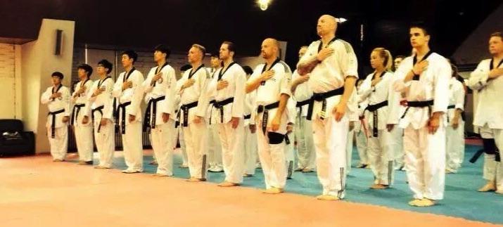 JSK med 30 medlemmar i Sydkorea och tränar. 2014 och 2019