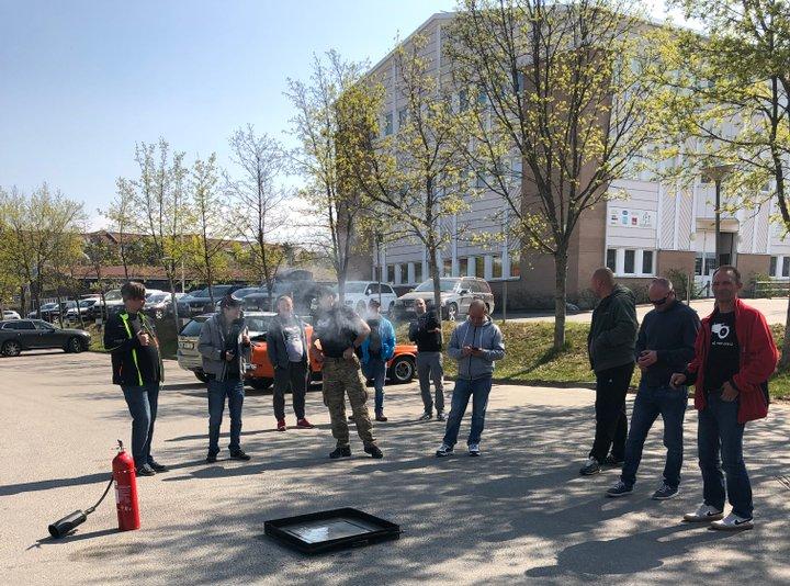 Brandfarliga arbeten utbildning Stocholm