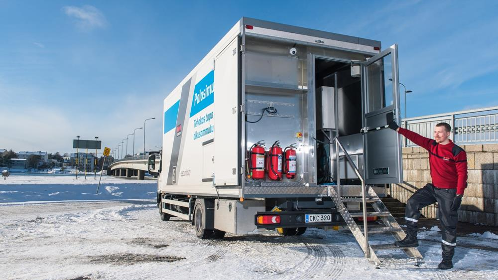 palosimulaattori alkusammutus paloturvallisuus