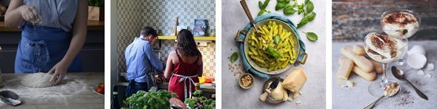 Corona-anpassad matlagningskurs laga mat romantisk aktivitet stockholm