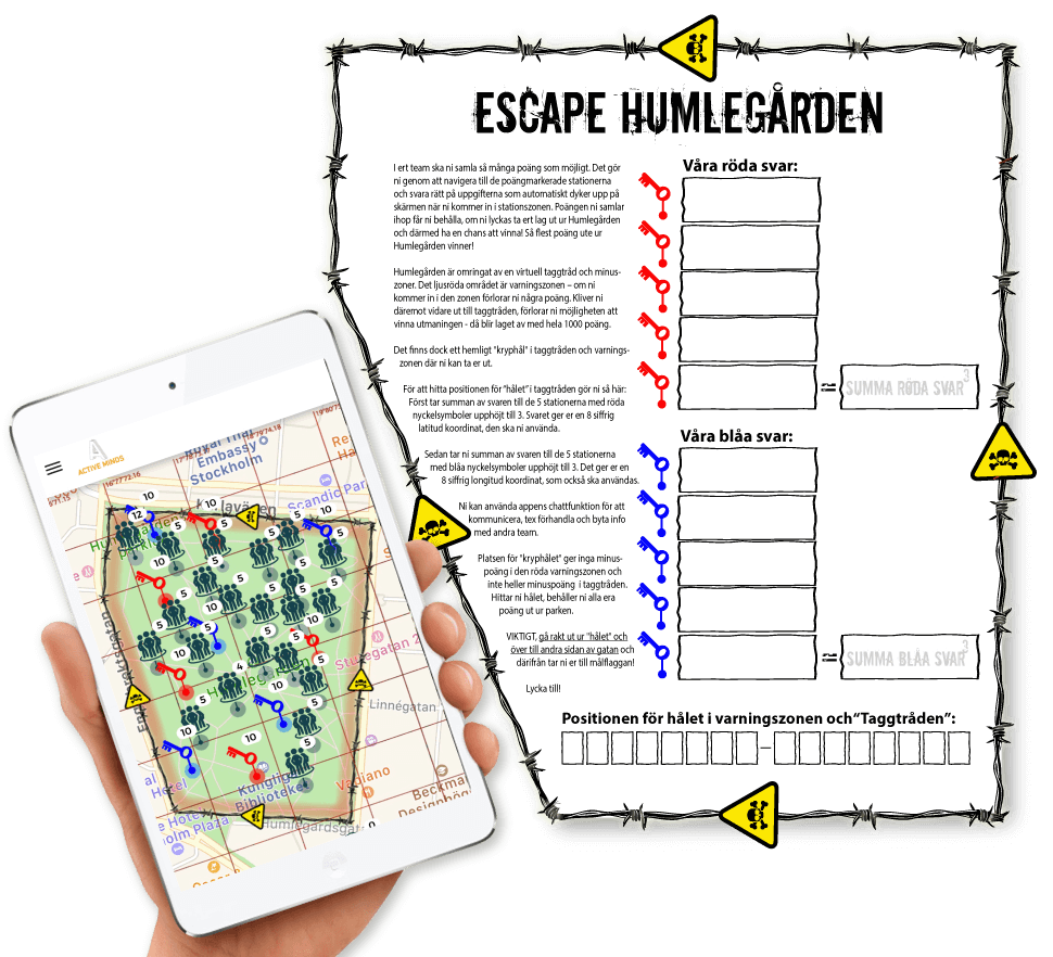 Escape Game m iPads