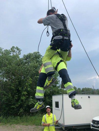 Fallskyddsutbildning Stockholm