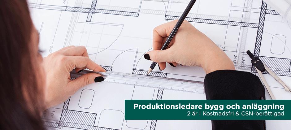 Produktionsledare bygg och anläggning, YH-utbildning hos Teknikhögskolan