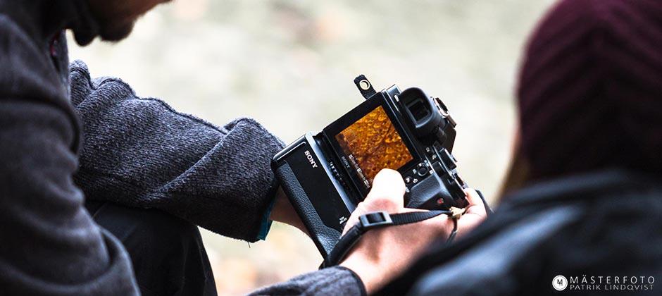 Fotokurs på distans från grunden