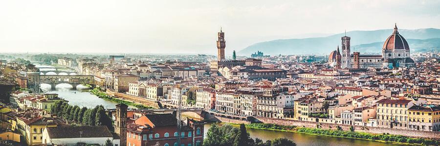 Lev Drommen Lar Dig Italienska I Vackra Florens