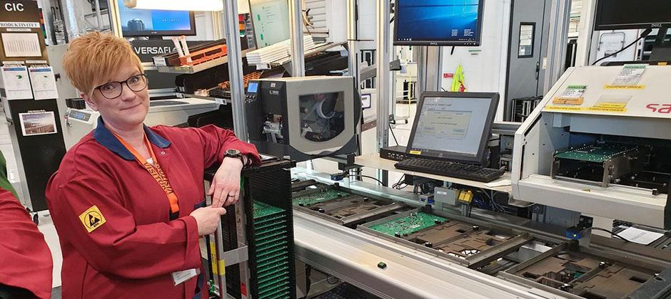Tidigare student som läst till Industriell elektroniktekniker