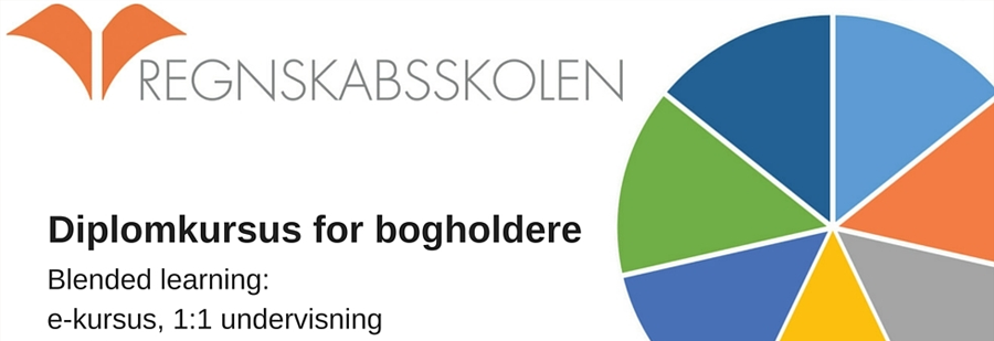 Diplomkursus for bogholdere - Blended learning bogholderkursus
