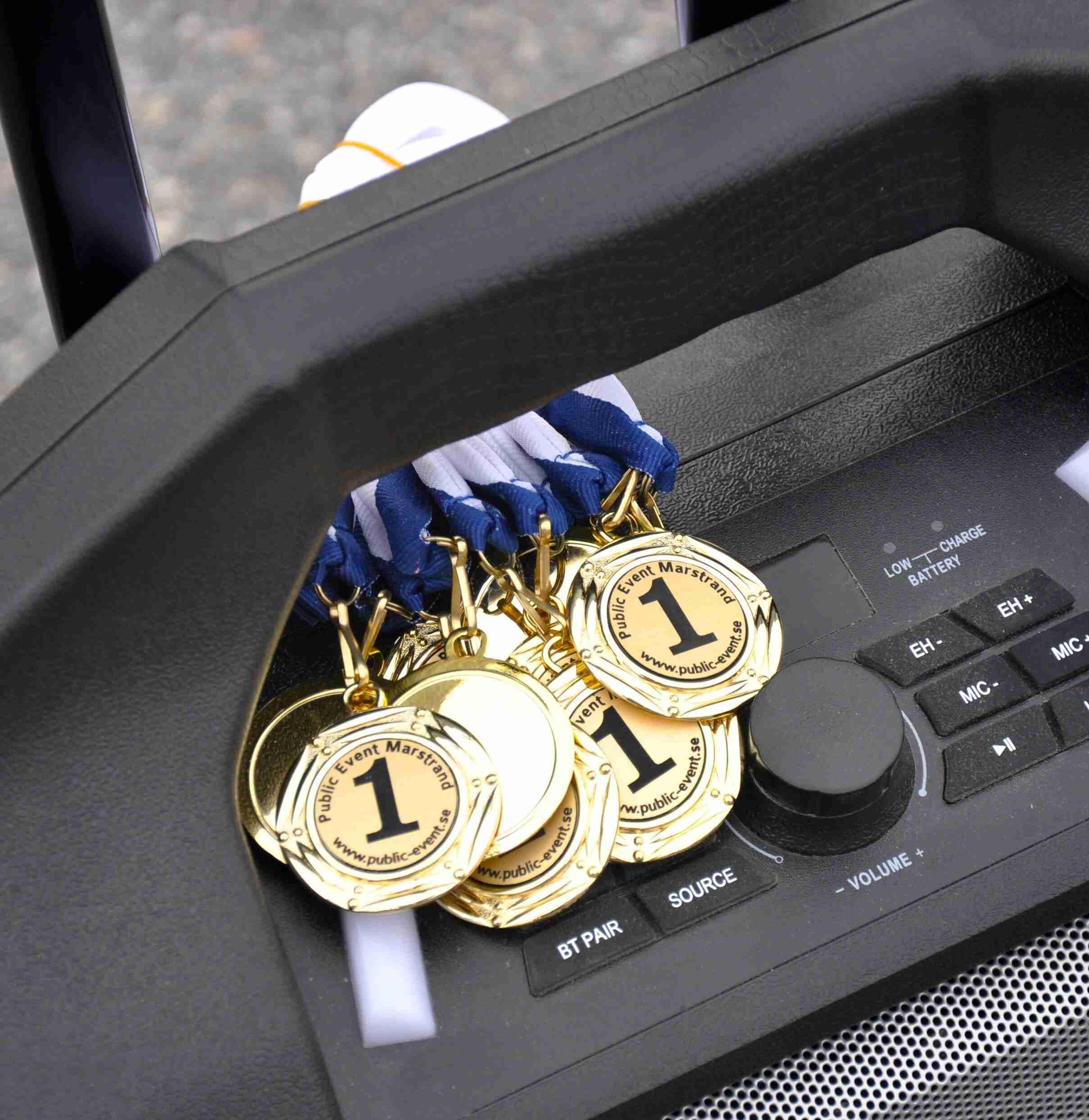 Medaljutdelning