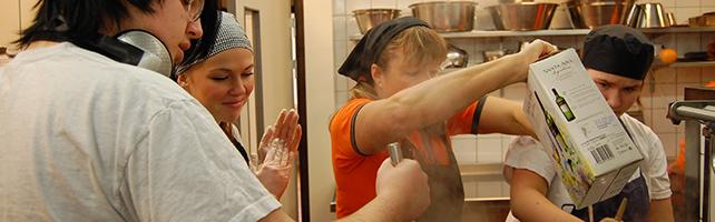 Restaurang- och livsmedelsprogrammet, Kök & servering