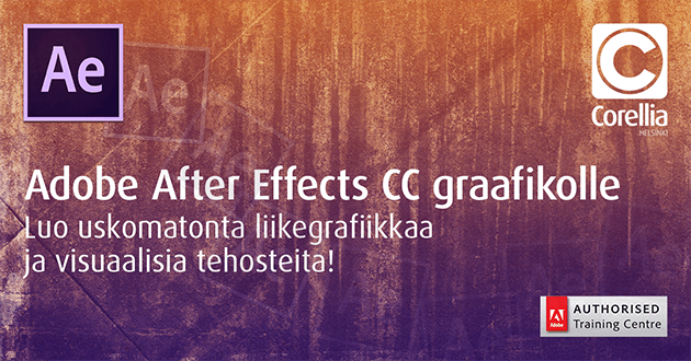 Adobe After Effects CC videotuotannossa