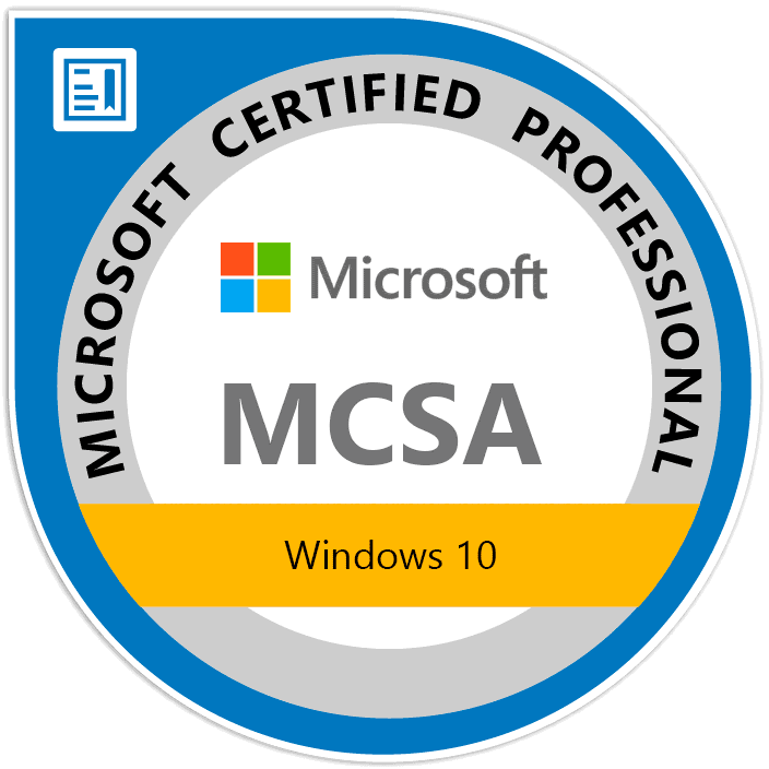 Windows 10 - MCSA