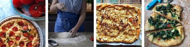 Corona-anpassad matlagningskurs laga mat pizza focaccia aktivitet stockholm