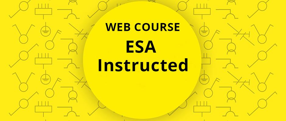 ESA Instructed, ESA Instructed person, EBR, ElnätsBranschens Riktlinjer, ESA, elsäkerhet