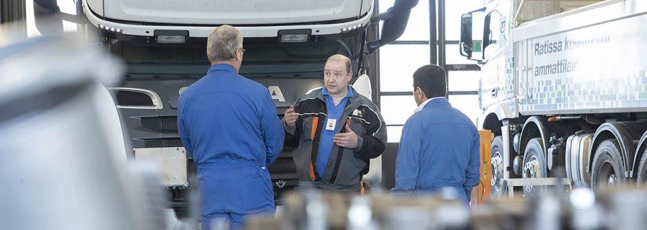 Autoalan työnjohtaja | Ajoneuvoalan ammattitutkinto | TTS Työtehoseura