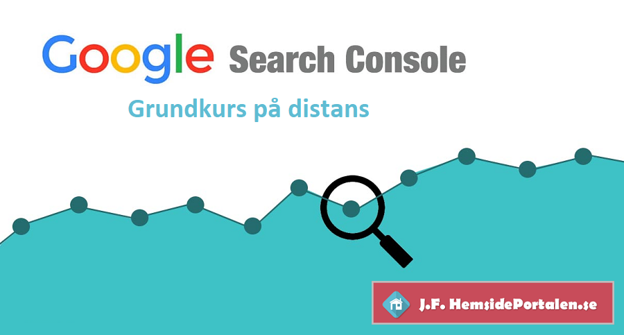 Google Search Console - Distanskurs