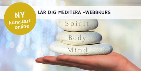 MEDITATION mindfulness live kurs - Online med Mia!