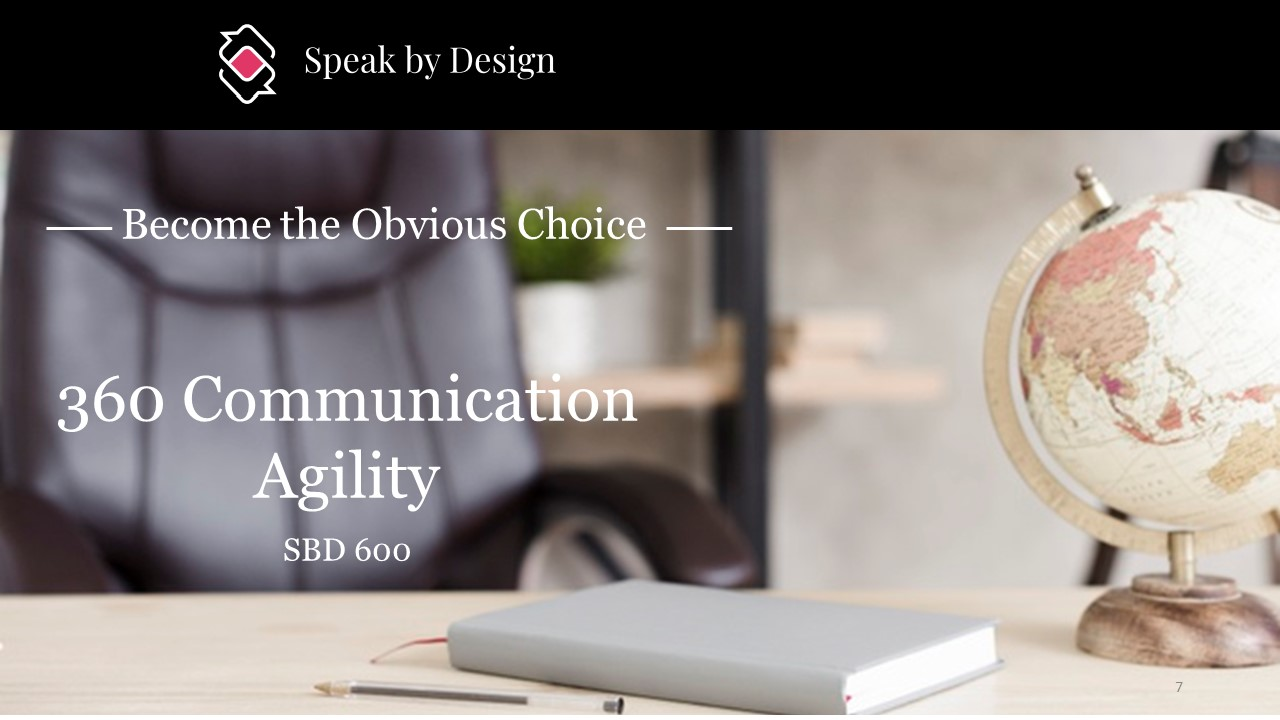 SBD 600 - 360 Leadership Communication Agility