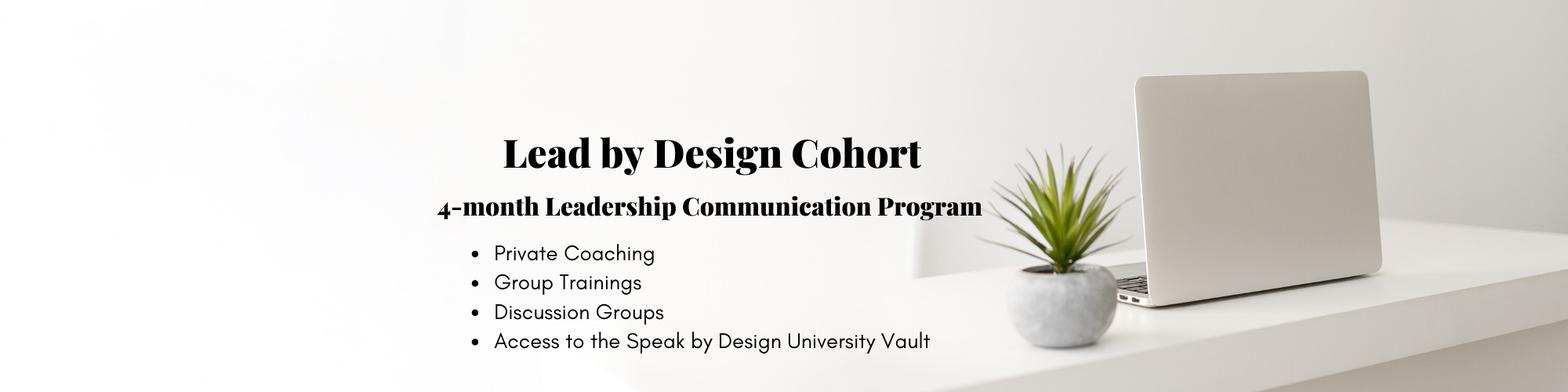 Lead by Design Cohort