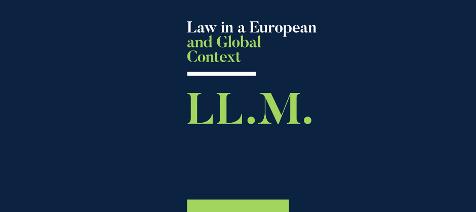 LL.M Law in a European and Global Context