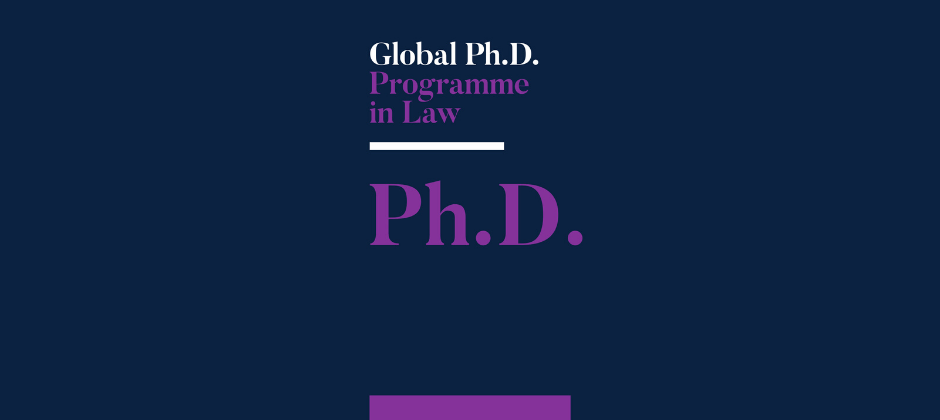 Global Ph.D. Programme in Law