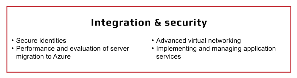 Integration and security