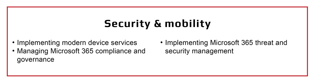 Security and mobility