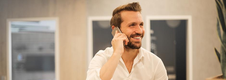 Asiakaspalvelija – Ole hyvä puhelimessa