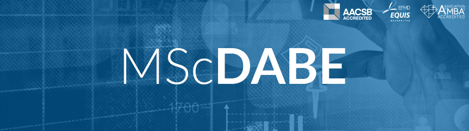 MSc in Data Analytics and Business Economics (MSc DABE)