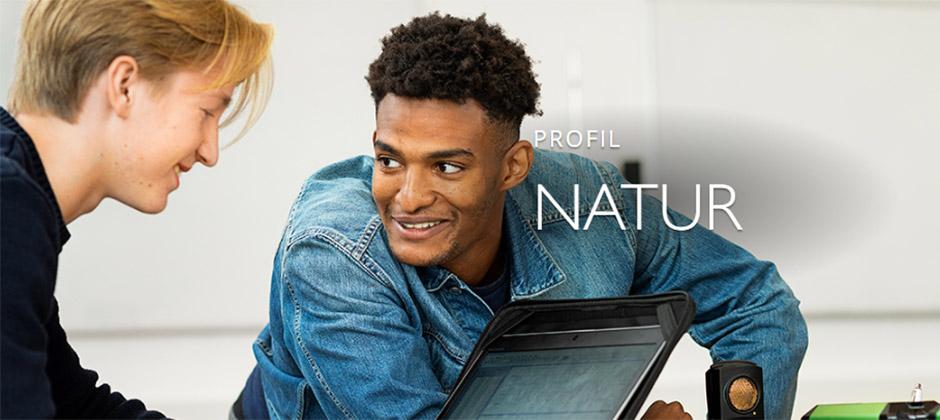Naturvetenskapsprogrammet, Natur på Hulebäcksgymnasiet