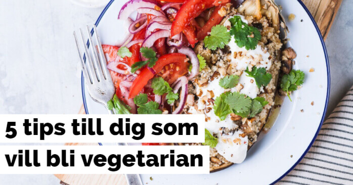 bli vegetarian tips