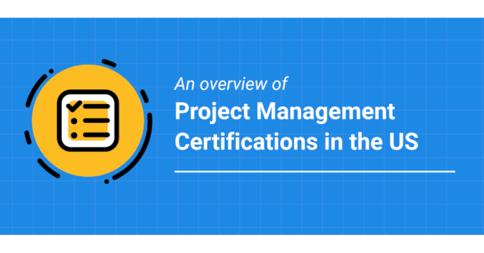 Project Management Certifications In The Us Infographic