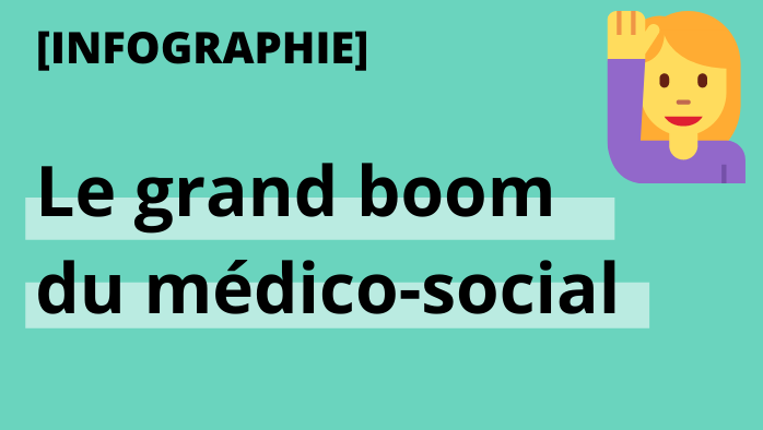 Infographie : le grand boom du médico-social