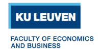 KU Leuven Faculty of Economics and Business