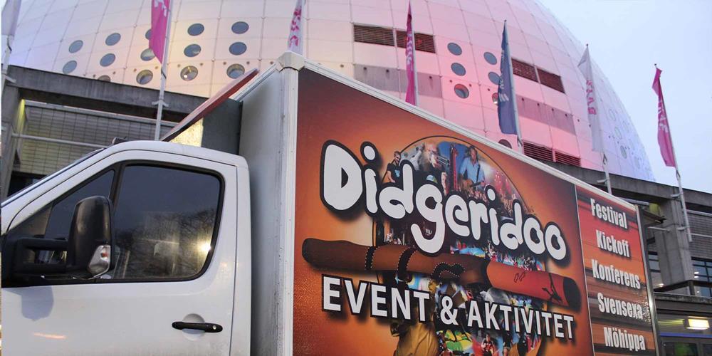 Didge vid Globen
