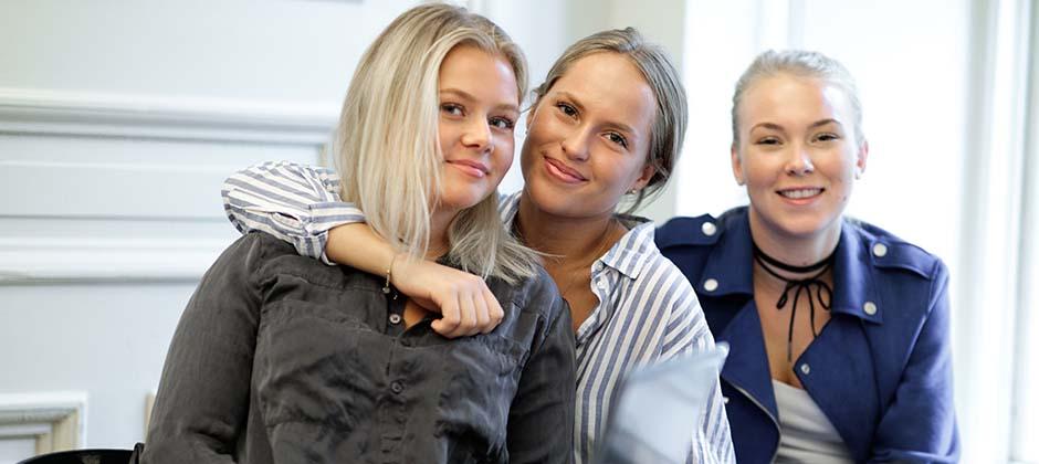 Tre tjejer