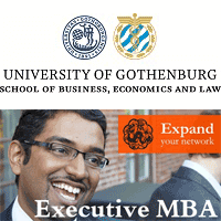 Invest in your future - Gothenburg Executive MBA