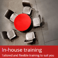 Tailored and Flexible In-house Training Solutions