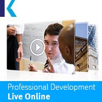 Professional Development Live Online by Kaplan