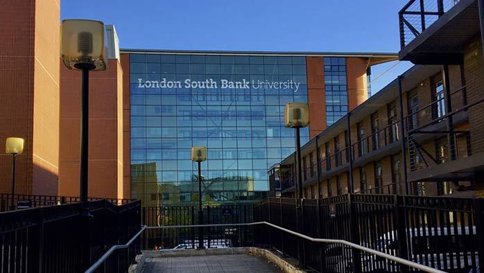 Studera i centrala London