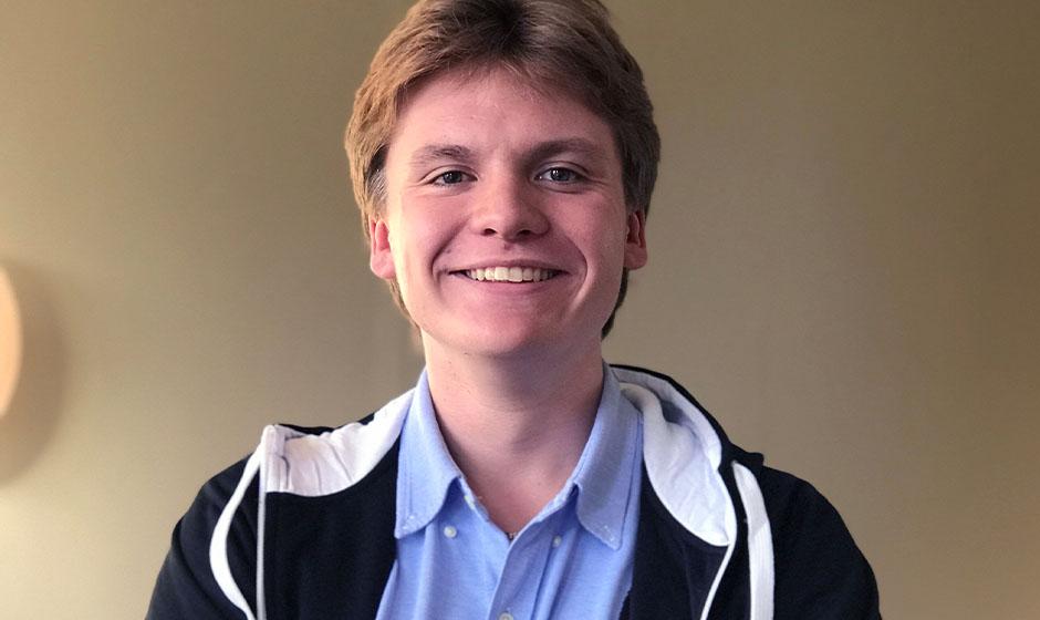Alexander Olsson går på NTI Gymnasiet