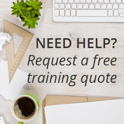 findcourses request a training quote